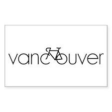 Bike Vancouver Bumper Stickers