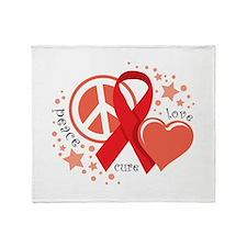 HIV/AIDS PLC Throw Blanket