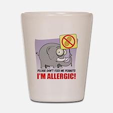 Peanut Allergy Shot Glass