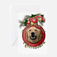 Christmas - Deck the Halls - Retrievers Greeting C