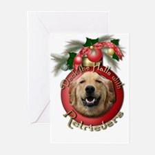 Christmas - Deck the Halls - Retrievers Greeting C