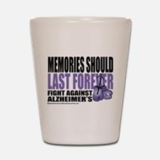 Memories Last Forever Shot Glass