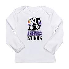 Alzheimers Stinks Long Sleeve Infant T-Shirt