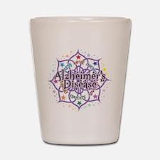Alzheimers Lotus Shot Glass