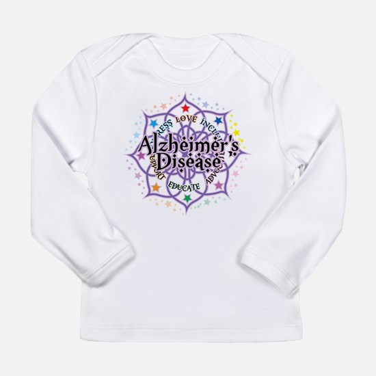 Alzheimers Lotus Long Sleeve Infant T-Shirt