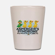 Asperger's Syndrome Ugly Duck Shot Glass