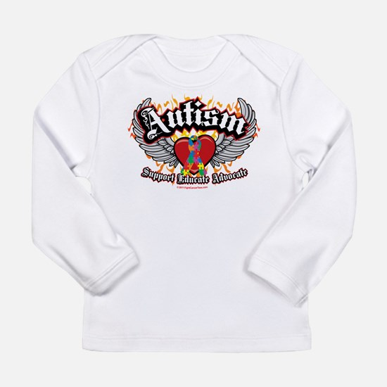 Autism Wings Long Sleeve Infant T-Shirt