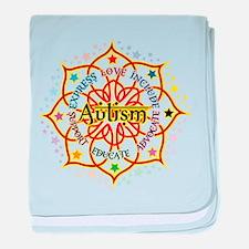 Autism Lotus baby blanket