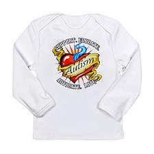 Autism Classic Tattoo Long Sleeve Infant T-Shirt
