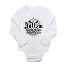 Autism Tribal 2 Long Sleeve Infant Bodysuit