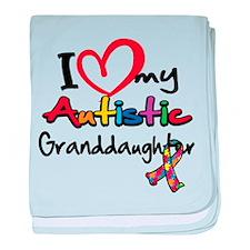 My Autistic Granddaughter baby blanket