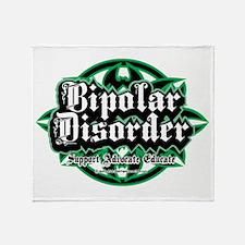Bipolar Disorder Tribal Throw Blanket