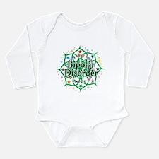 Bipolar Disorder Lotus Long Sleeve Infant Bodysuit