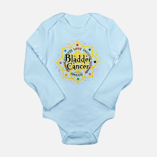 Bladder Cancer Lotus Long Sleeve Infant Bodysuit