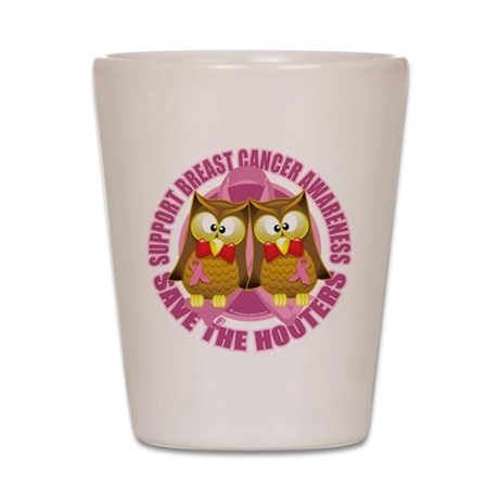 Save the Hooters 2 Shot Glass