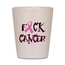 Fuck Breast Cancer Shot Glass