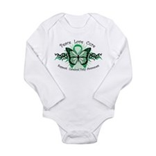 CP Butterfly Long Sleeve Infant Bodysuit