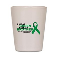 CP: Green For Brother Shot Glass