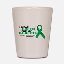 CP: Green For Daughter Shot Glass