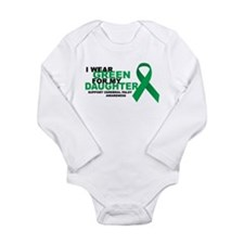 CP: Green For Daughter Long Sleeve Infant Bodysuit