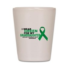CP: Green For Granddaughter Shot Glass
