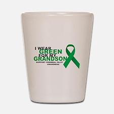 CP: Green For Grandson Shot Glass