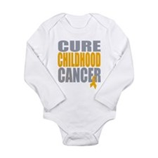 Cure Childhood Cancer Long Sleeve Infant Bodysuit