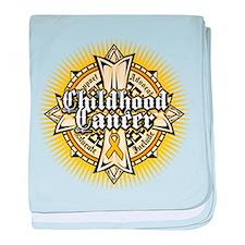 CC Celtic Cross baby blanket