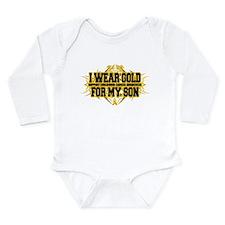 Gold For Son Tribal Long Sleeve Infant Bodysuit