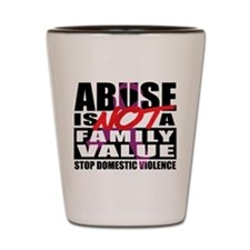 Hate is not a Family Value Shot Glass