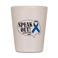 Speak Out Shot Glass