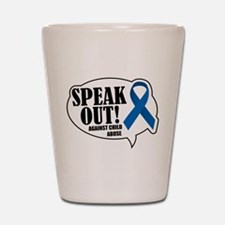 Speak Out Shot Glass