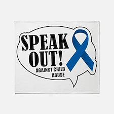 Speak Out Throw Blanket