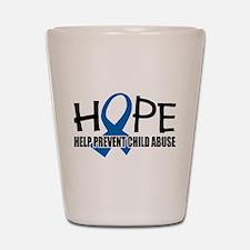 HOPE: Child Abuse Shot Glass