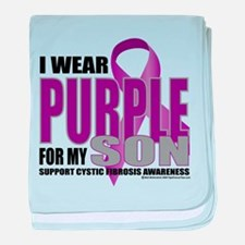 Cystic Fibrosis Purple For My baby blanket