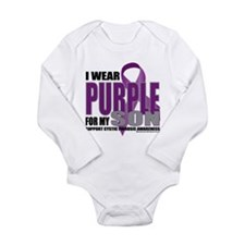 Cystic Fibrosis Purple For My Long Sleeve Infant B