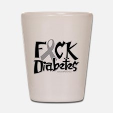 Fuck Diabetes Shot Glass