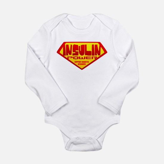 Insulin Power Onesie Romper Suit