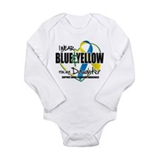 Blue & Yellow for Daughter Long Sleeve Infant