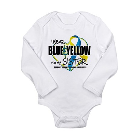 DS: for Sister Long Sleeve Infant Bodysuit