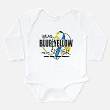 DS: for Sister Long Sleeve Infant Bodysuit