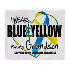 DS: for Grandson Throw Blanket