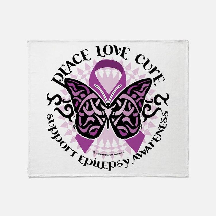 Epilepsy PLC Throw Blanket