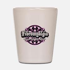 Fibromyalgia Tribal Shot Glass