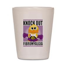 Knock Out Fibromyalgia Shot Glass