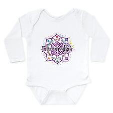 Fibromyalgia Lotus Long Sleeve Infant Bodysuit