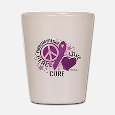 Fibromyalgia P.L.C Shot Glass