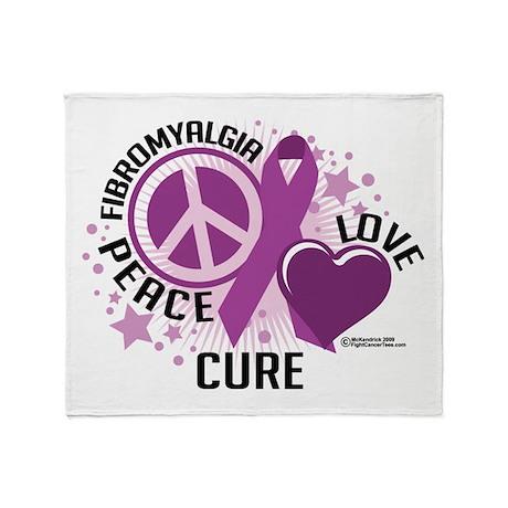 Fibromyalgia P.L.C Throw Blanket