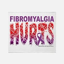 Fibromyalgia Hurts Throw Blanket