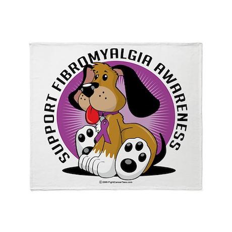 Fibromyalgia Dog Throw Blanket